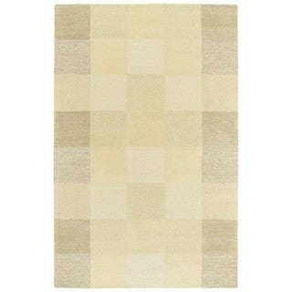 "Moods Sand Painter's Canvas Wool Rug (9'6"" x 13')"