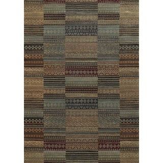 Rust Rizzy Home Bennington Collection Power-Loomed Accent Rug (9'10 x 12'6)