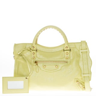 Balenciaga Giant 12 City Top Handle Bag