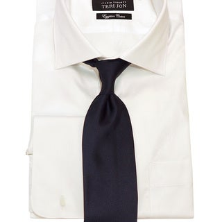 Teri Jon Pour Monsieur Men's 'Lusso' Navy Tie