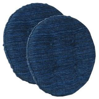Polar Sapphire Blue Barstool Cushion (Set of 2)
