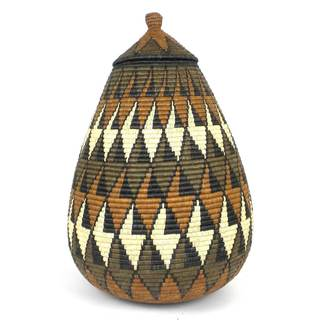 Zulu Wedding Basket - One of a Kind (South Africa)