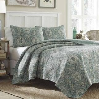 Tommy Bahama Turtle Cove 3-piece Quilt Set