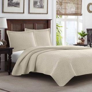 Tommy Bahama Dune Chevron 3-piece Quilt Set