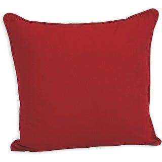 Simplicity 20-inch Canvas Decorative Pillow
