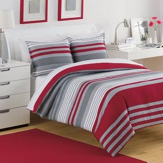 IZOD Engineered Stripe 3-piece Quilt