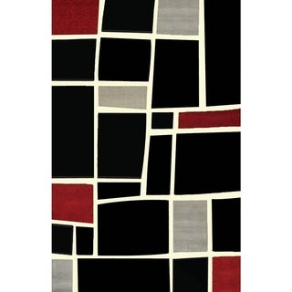 Mercury Block Area Rug (7'10 x 10'6)