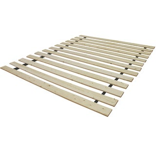 Renew and Revive Ovation Attached Solid Wood Bed Support Slats-Bunkie Board
