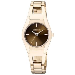 Citizen Women's EX0323-51W 'Eco-Drive' Gold-Tone Stainless steel Watch