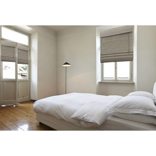 Lewis Hyman Chesapeake Collection Bamboo Roman Shade in Driftwood