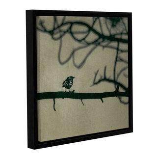 ArtWall Elena Ray ' Yoga Bird 2 ' Gallery-Wrapped Floater-Framed Canvas
