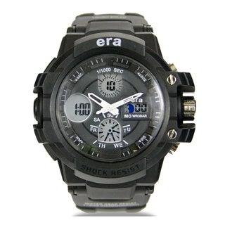Landon By Era Black Digital Water Resistance Watch