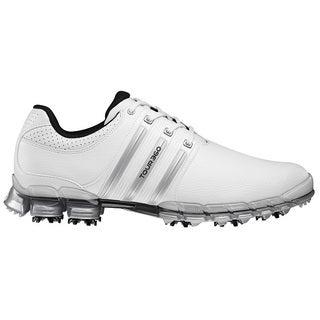 Adidas Men's Tour 360 ATV M1 White/ Metallic Silver Golf Shoes