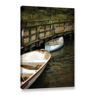 ArtWall Kevin Calkins ' After The Catch ' Gallery-Wrapped Canvas