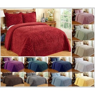 Rio Cotton Chenille Bedspread by Better Trends