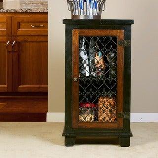 Hillsdale Furniture's Gibbins Cabinet with Metal Insert Door
