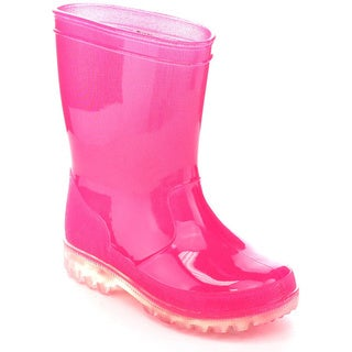 JELLY BEANS LIGHTSION Toddlers Lighted Solid Color Rain Boots