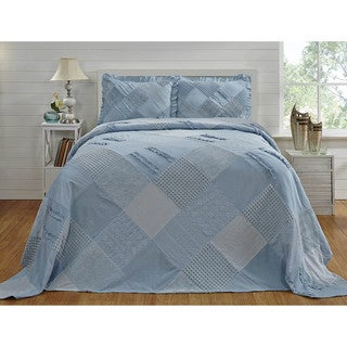 Chenille Ruffled Bedspread (Shams Sold Separately) by Better Trends