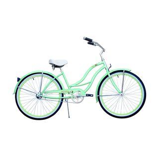 Micargi Tahiti Women's 26-inch Mint Green Beach Cruiser Bike
