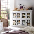 NovaSolo Mahogany Pantry with 8 Shelves (White)