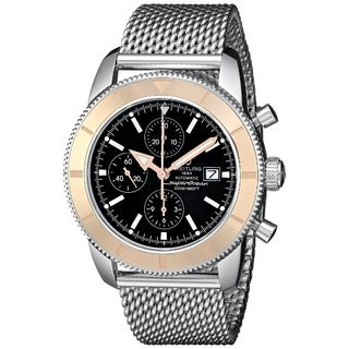 Breitling Men's U1332012-B908 'SuperOcean' Automatic Chronograph Silver Stainless steel Watch