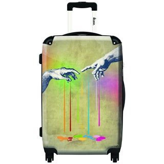 iKase Touch 20-inch Carry On Hardside Spinner Suitcase