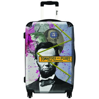 iKase Lincoln by ELO 20-inch Carry On Hardside Spinner Suitcase