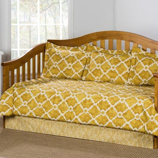 Athens Goldenrod Cotton 5-piece Daybed Set