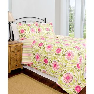 Slumber Shop Serenade Reversible 3-piece Quilt Set