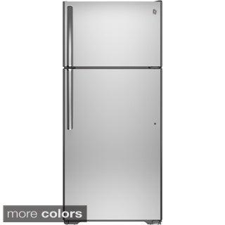 GE Energy Star 15.5 Cubic-foot Top-freezer Refrigerator