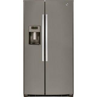 GE Energy Star 25.4 Cubic Feet Side-by-side Refrigerator