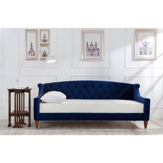 Lucy Navy Blue Tufted Sofa Bed