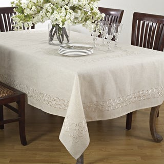 Embroidered Design Table Linens