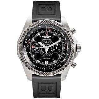 Breitling Men's E2736522-BC63 'Bentley' Automatic Chronograph Black Rubber Watch