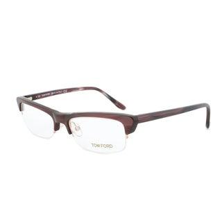 Tom Ford FT5133 050 Woodgrain Brown Eyeglass Frames - Size 52