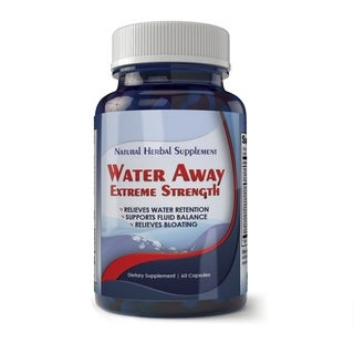 TotallyProducts Water Away Natural Diuretic Water Pill (60 Capsules)