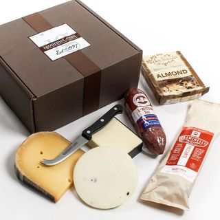 Executive Collection of Salami and Cheese in Gift Box