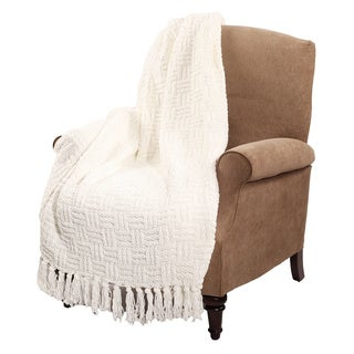 BNF Home Cable Knitted Throw