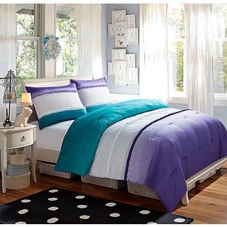 Sunset Dream Ombre 3-piece Comforter Set