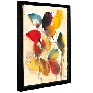 ArtWall Karin Johannesson 'Spring Bulbs Ii' Gallery-wrapped Floater-framed Canvas