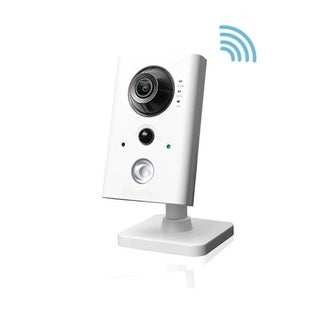 LaView 2MP Resolution Wireless Indoor Security Camera with Night Vision, Micro SD Slot, Motion Detection, and Alarm Connection