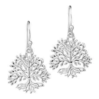 Deep Rooted Tree of Life .925 Sterling Silver Earrings (Thailand)
