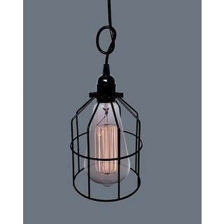 Presley 1-light Black Adjustable Height 6-inch Edison Pendant Lamp