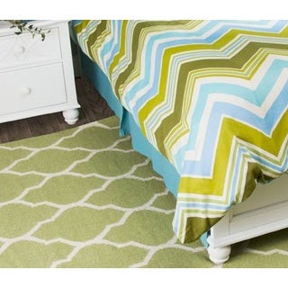 Rizzy Home Hippie Chic Solid Teal Bed Skirt