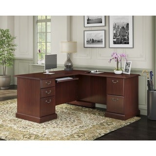 Bush Furniture Bennington Manager's L-desk