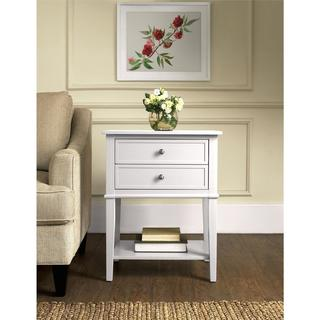 Altra Franklin Accent Table with Two Drawers
