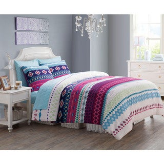 Makayla Reversible 9-piece Bed in a Bag Set