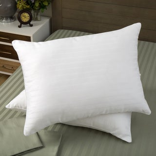 Dream Essence 400 Thread Count Supima Cotton Memory Fiber Blend Pillow (Set of 2)