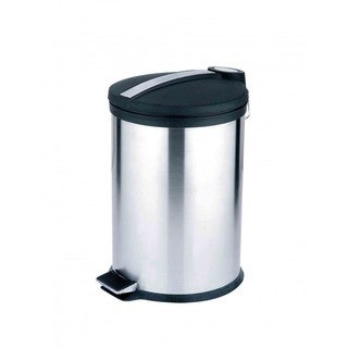 Home Basics Stainless Steel 20-liter Waste Can