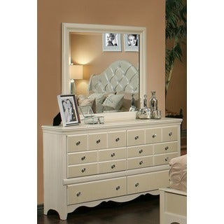 Sandberg Furniture Marilyn Dresser and Mirror
